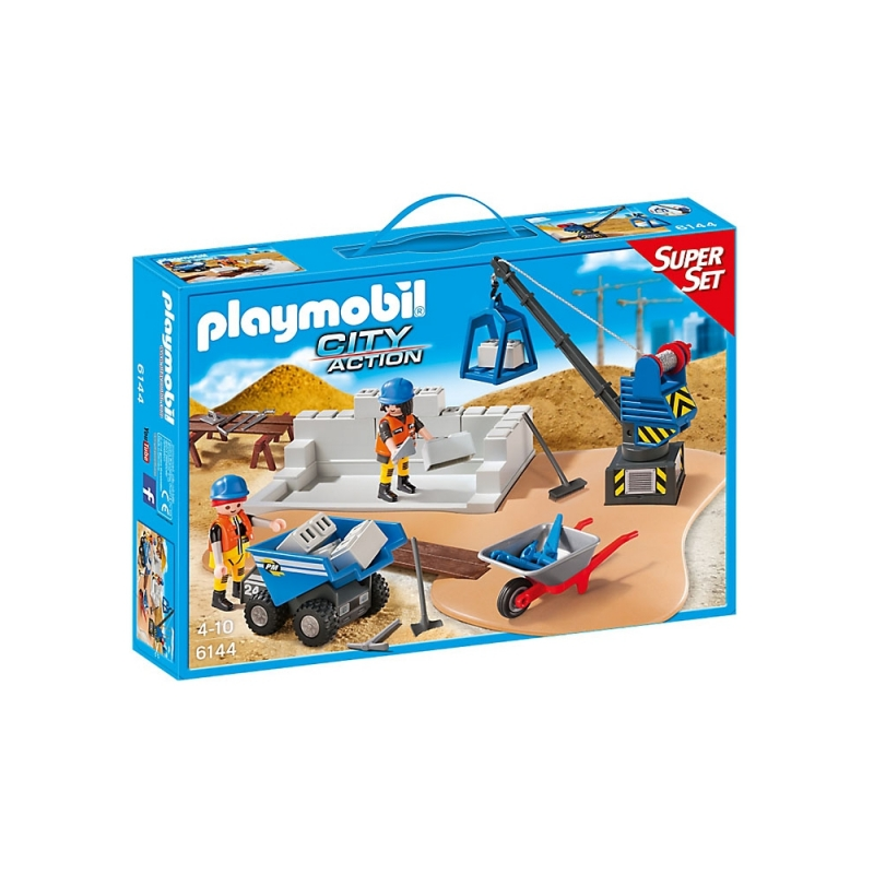 Playmobil® 6144 SuperSet Baustelle