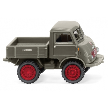 Wiking 036801 Unimog U 401 - moosgrau