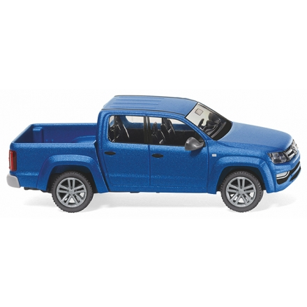 Wiking 031149 VW Amarok GP Highline -  ravennablau metallic matt