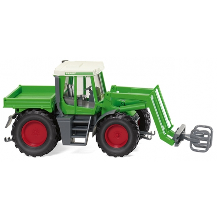 Wiking 038003 Fendt Xylon mit Ballengreifer
