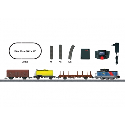 Märklin 29468 Digital-Startpackung Green Cargo
