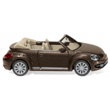Wiking 002802 VW The Beetle Cabrio - toffeebraun metallic