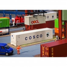 Faller 180851 40' Hi-Cube Kühlcontainer COSCO