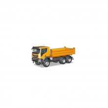 Herpa 309998 Iveco Trakker 6x6 Baukipper-LKW orange