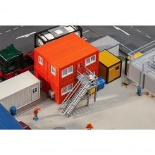 Faller 130135 4 Baucontainer, orange
