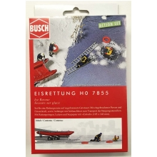 Busch 7855 Action-Set Eisrettung H0