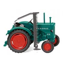 Wiking 1//87 089938 Traktor Fendt Geräteträger mit seitlichem Mähwerk NEU OVP
