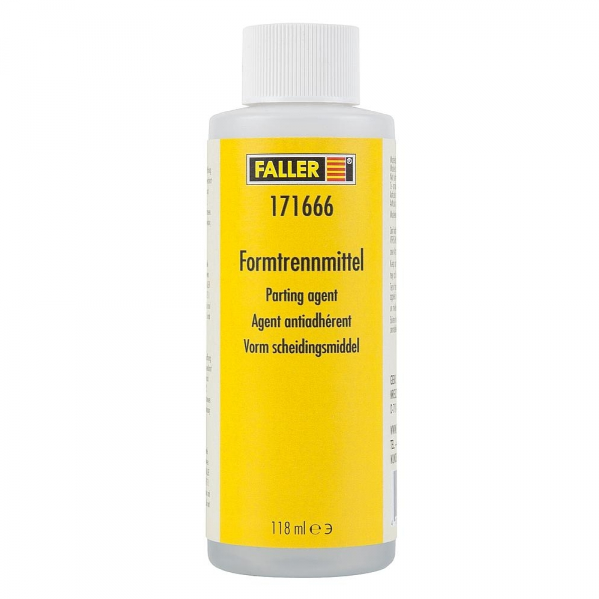 Faller 171666 Formtrennmittel 118 ml