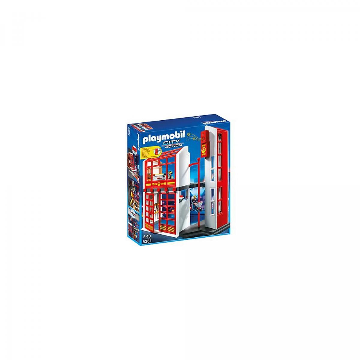 Schmalenbach Onlineshop Playmobil 5361 Feuerwehrstation Mit Alarm