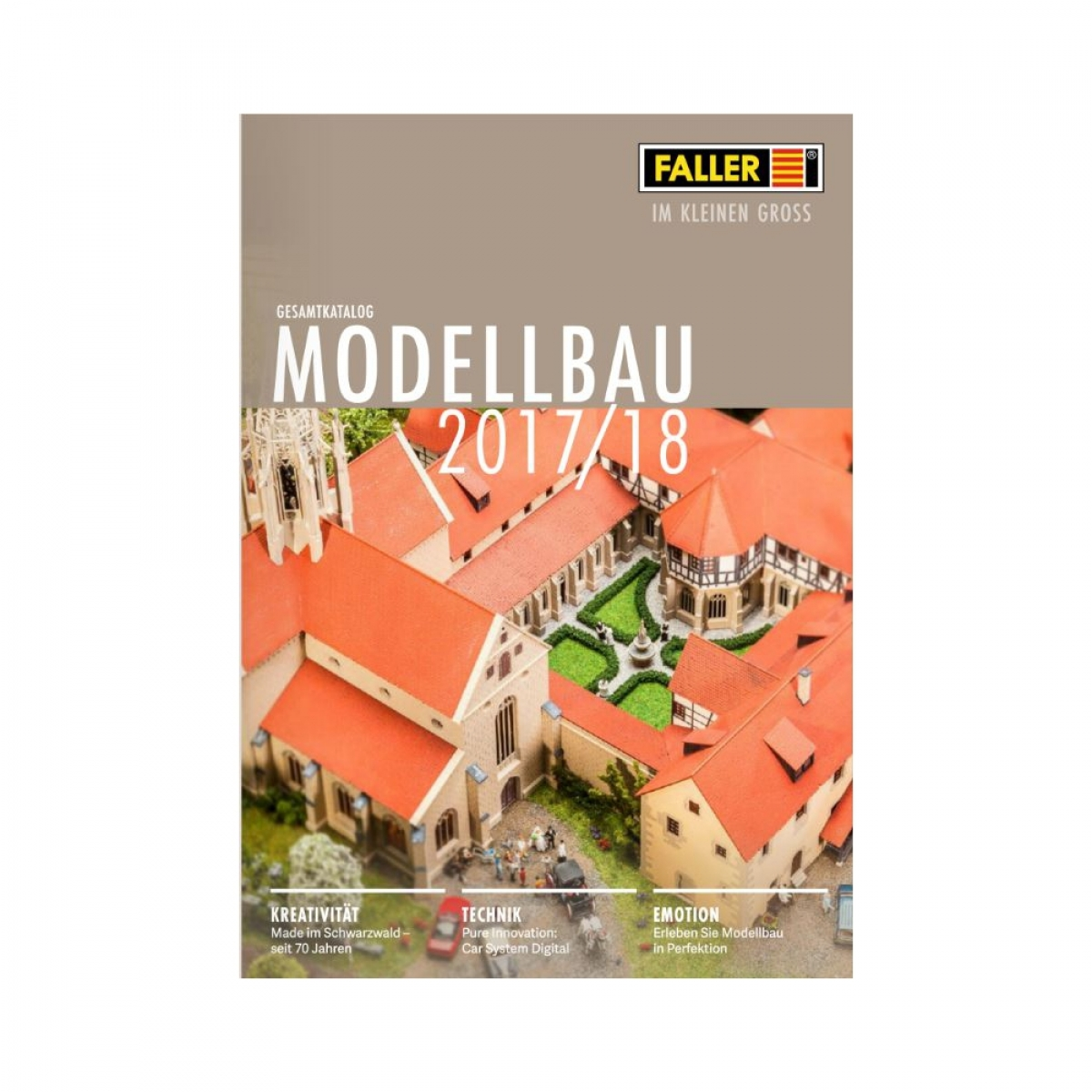 faller 190906 faller modellbahnzubeh r katalog 2017 2018. Black Bedroom Furniture Sets. Home Design Ideas
